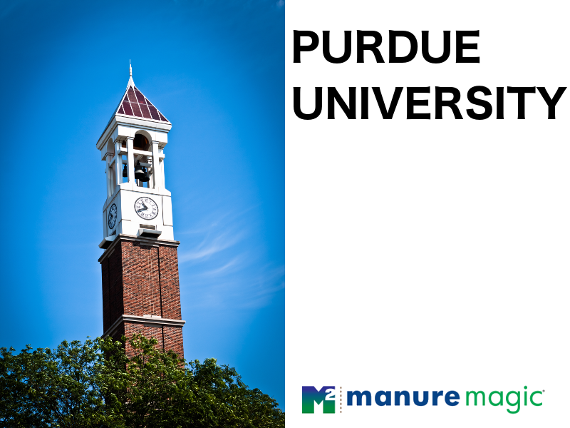 Purdue University Study Finds ManureMagic® Significantly Reduces Hydrogen Sulfide and Odors from Manure