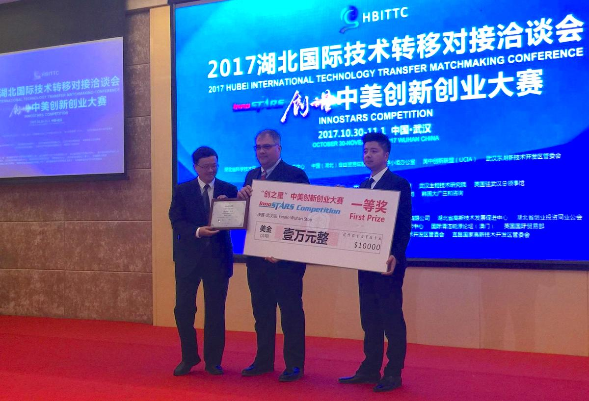 Drylet wins First Prize at InnoSTARS Competition 2017