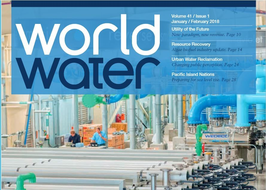 "World Water magazine: ""Biosolids reduction must be first priority"""