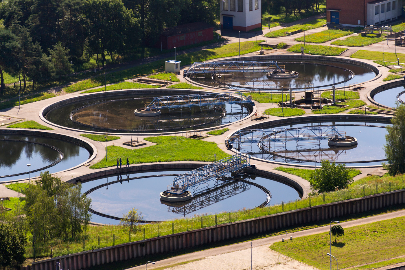 Aqua Assist Reduces Solids at 5 MGD Treatment Plant