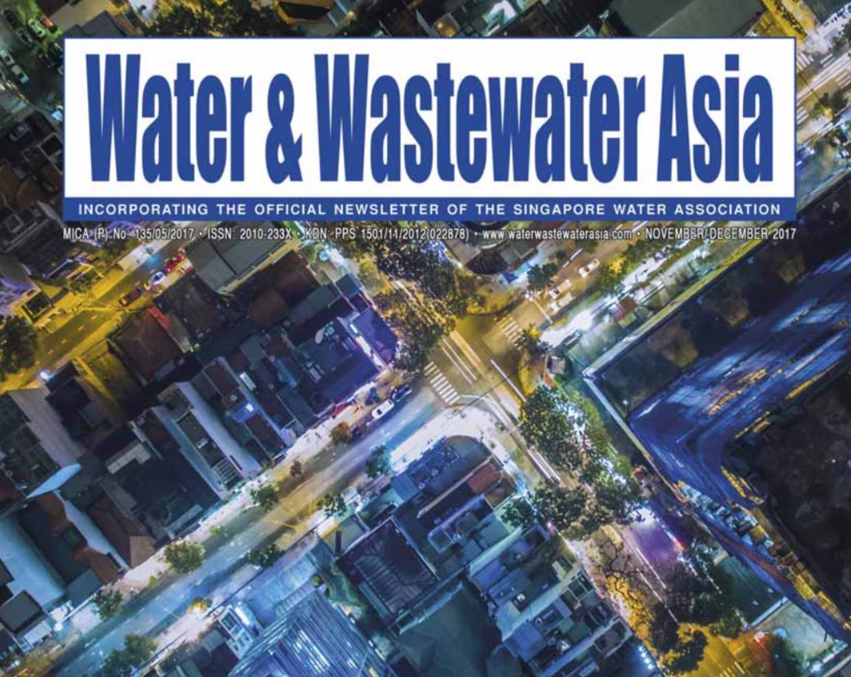 Water & Wastewater Asia features Drylet in Nov/Dec issue