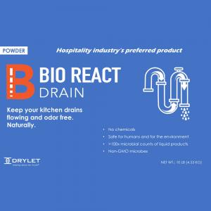 Bio React Drain